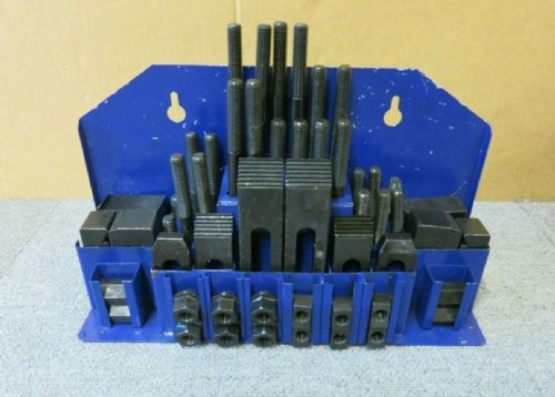 Atlas TCS012 ATL-425-1120K 58-Piece T-Slot Clamping Set To Suit Slot 12mm